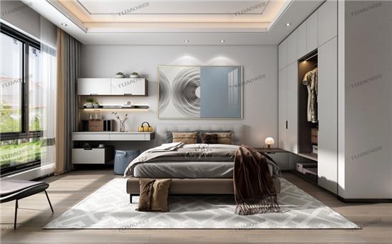 兔宝宝全屋定制家具为您打造卧室舒适圈