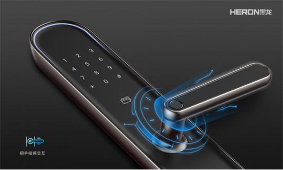黑龙F5智感双全智能锁新品首发,掀起惊艳风潮