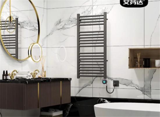 家居爆款艾芬达电热毛巾架,开启品质卫浴健康新生活