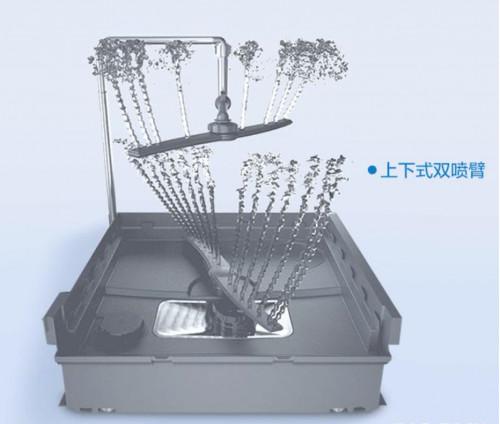 老板强力洗洗碗机WB770A,解放双手,给予家庭美好饭后时光