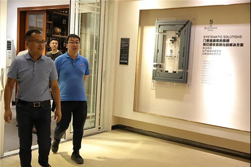 强强联合·共赢未来丨居然之家总部高管携分公司一行到访罗兰西尼系统门窗!