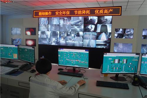 智能升级,中建西部建设所属吉木萨尔水泥厂生产运营集散控制系统升级改造获好评