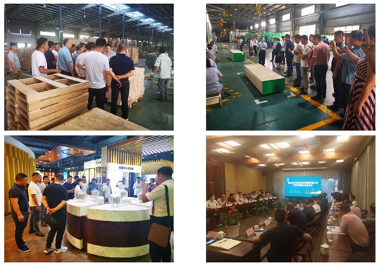 兔宝宝工程代理商半年度会议暨宁国工厂参观签约仪式圆满成功