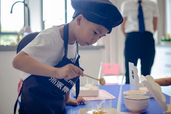 #浙是美食派#亲子体验营第12季开课啦!