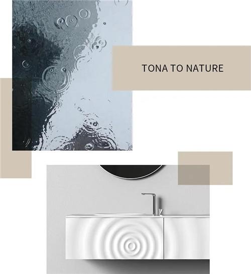 TONA朵纳国际卫浴:涟漪,撩动心弦