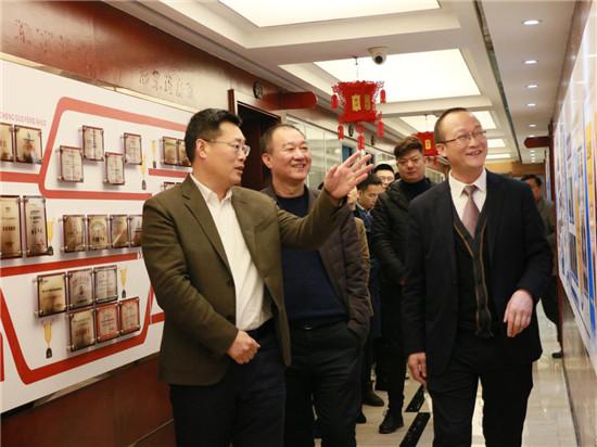 长沙市副市长朱东铁带队调研长沙支点等会展企业