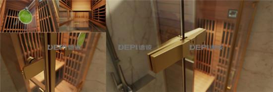 德彼光波房 专利生态活氧光波淋浴连体房