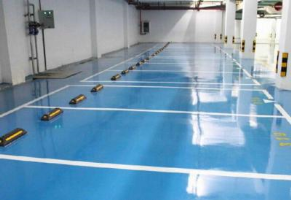 环氧树脂地坪的耐磨性 环氧树脂薄涂地坪