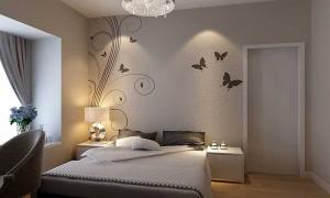 卧室硅藻泥喷完后悔了 卧室墙面做了硅藻泥