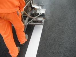 热熔标线施工工艺 热熔标线怎么施工