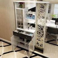 进门客厅鞋柜隔断屏风_进门就是餐厅和客厅 玄关和鞋柜如何设计?