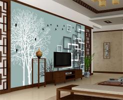 2018电视墙大气效果图 电视墙装修效果图大全