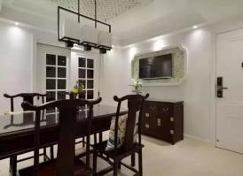 两面用客厅隔断电视柜 长方形多门客厅怎么装修