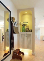 一进门是客厅玄关设计 一进大门就能看到客厅如何设计玄关