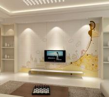 電視柜木工造型設計 裝修房子木工活步驟