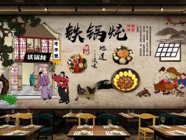 乡下小饭店装修图片 餐馆的门头装修图片