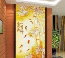 玄关壁画图片大全 走廊玄关壁画风水有哪些禁忌