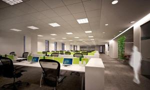 汽修办公室装修效果图 办公室隔断效果图之办公室隔断如何装修