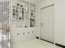 室内装饰博古架  室内装修设计客厅怎样隔断