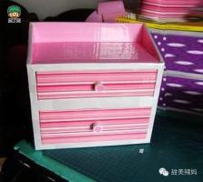 用纸盒做抽屉 怎样把纸箱废物利用做一个杂物柜