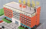 江西同济设计集团新办公大楼采用我公司生产的瀚卓牌轻质隔墙,正在紧张施工中