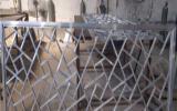 【四方管焊接木纹铝窗花】生产工艺【仿木纹色铝窗花】筑装饰仿古材料