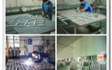 复古防盗铝花格窗的生产工艺工程?