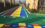 户外塑胶地面厂家供应 彩色塑胶地面销售公司
