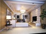 集成墙客厅装修效果图—新意满满让人舒心