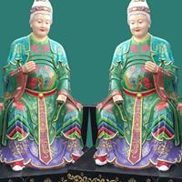 河南佛道家厂家批发树脂佛像彩绘 黑老太太 黑妈妈神像