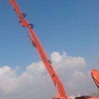 【挖掘机加长臂/拆楼臂/打桩臂/岩石臂】生产供应商厂家