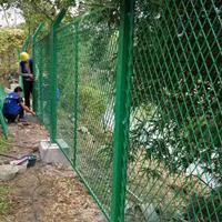 苹果园围栏网@烟台果园围栏网铁丝网@苹果园绿色蓝色铁丝网围栏