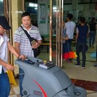 贵港物业洗地机用途贵港商城电动洗地机公司运营