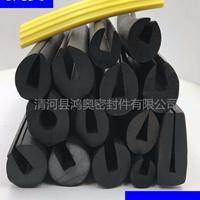 C型震动筛网耐磨损实心橡胶密封条