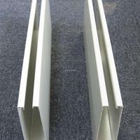 铝合金方管吊顶  木纹铝方通40*60 方通间距