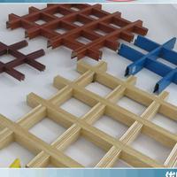 木纹铝格栅批发|铝格栅颜色|铝格栅图片 安装流程
