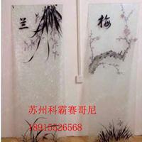 荆州Diy玻璃印照片印图片的机器黄冈冰晶玻璃移门设备