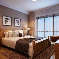 合生城邦一期169平叠加别墅15万现代风格装修设计案例