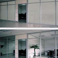 电控调光玻璃-欧毅办公隔断定制通电变色玻璃