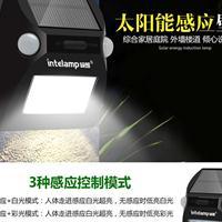 厂家直销户外太阳能灯太阳能壁灯, 颖朗太阳能灯给您七彩霓虹