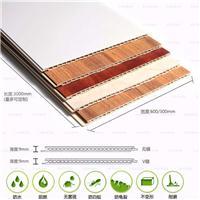生态木600快装板集成板覆膜室外防腐防水地板花园栏板平面板墙板