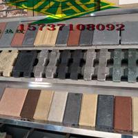 郑州透水砖厂家直销20x10x6通体彩色建菱砖