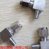 不锈钢卡套式端直角管接头GB3738.1-83