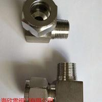 端直角管接头不锈钢卡套式GB3738-2008