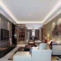 成都 120�O中式风格,两居室装修多少钱?