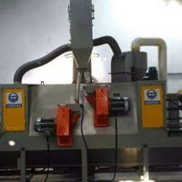 供应服装面料牛仔喷砂机 大型不锈钢模具表面强化处理设备