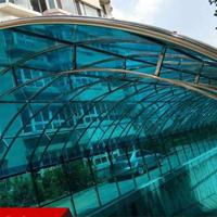 PC耐力板生产厂家 雨棚阳光板透明乳白耐力板厂家