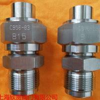 螺纹接头旋入CB56-83B型不锈钢