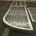 泉州厂家直销低碳环保的仿古铝窗花-免费设计