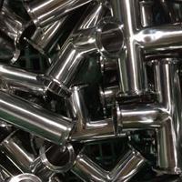 厂家长期供应不锈钢快装三通卫生级弯头快准管件卫生级弯头管件
